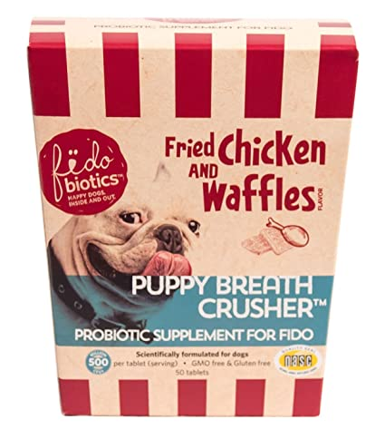 Amazoncom Puppy Breath Crusher By Fidobiotics Best Dog Breath