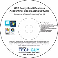Techguy4u Bookkeeping and accounting software(CD)