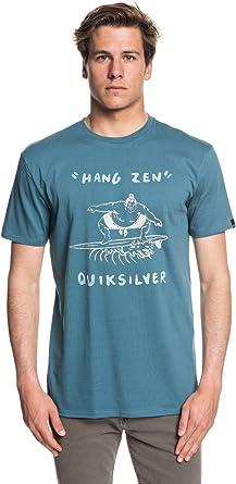 Quiksilver Hang Zen Camiseta Cuello Redondo, Hombre, Tapestry, FR : M (Taille Fabricant : M): Quiksilver: Amazon.es: Ropa y accesorios