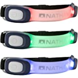 Nathan Lightbender Mini R. (1 item) For Running, Walking, Hiking, Biking and more. Nighttime, Evening, Low Visibility…