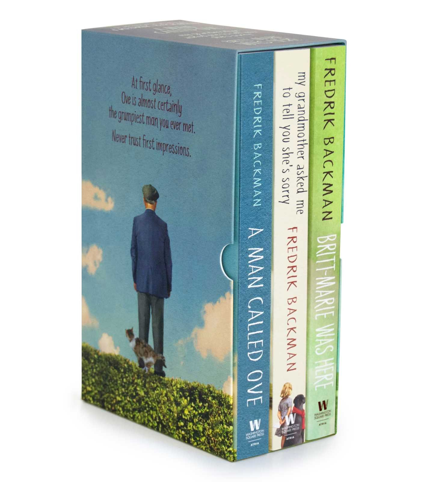 Amazon.com: The Fredrik Backman Collection: A Man Called Ove, My ...