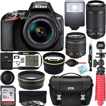 Amazon.com: Nikon D3500 Cámara DSLR con AF-P DX 0.709-2.165 ...