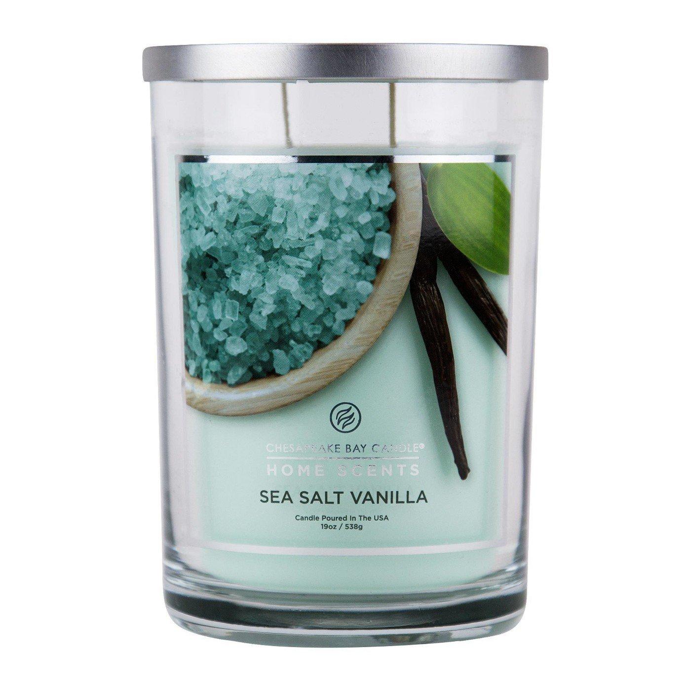 Home Scents by Candles Chesapeake Bay Candle Chesapeake Bay Jar Candle Sea Salt Vanilla