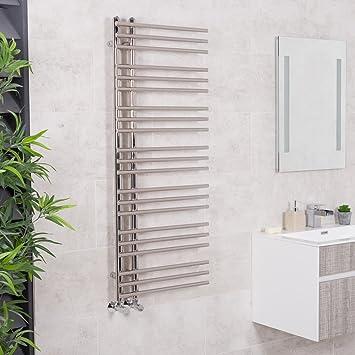 Sècheserviettes Eau Chaude W X Mm Droit Chrome - Radiateur salle de bain chauffage central
