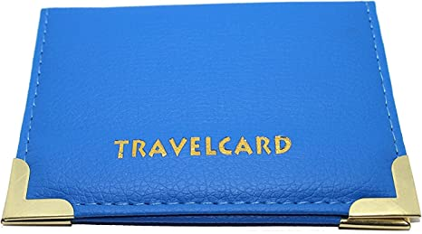 PU Cuir Oyster Voyage Bus Carte Pass Holder Portefeuille Rail Bus Carte Cover Case.