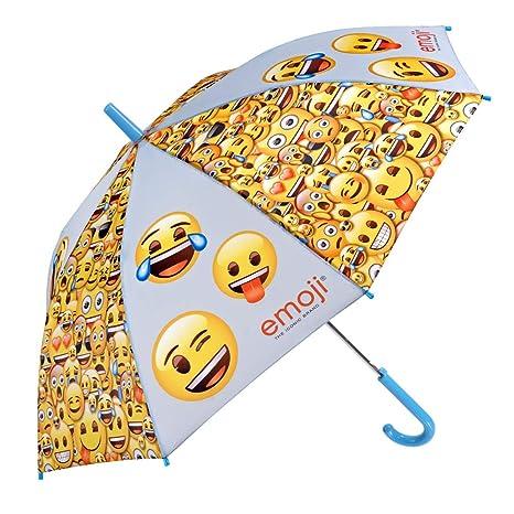 Paraguas Emoji para Niños y Niñas - Paraguas en Fibra de ...