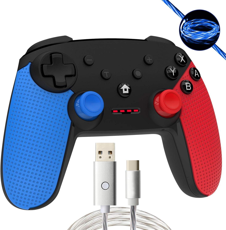 Momen Wireless Switch Pro Controller para Nintendo, Mejorado Dual ...