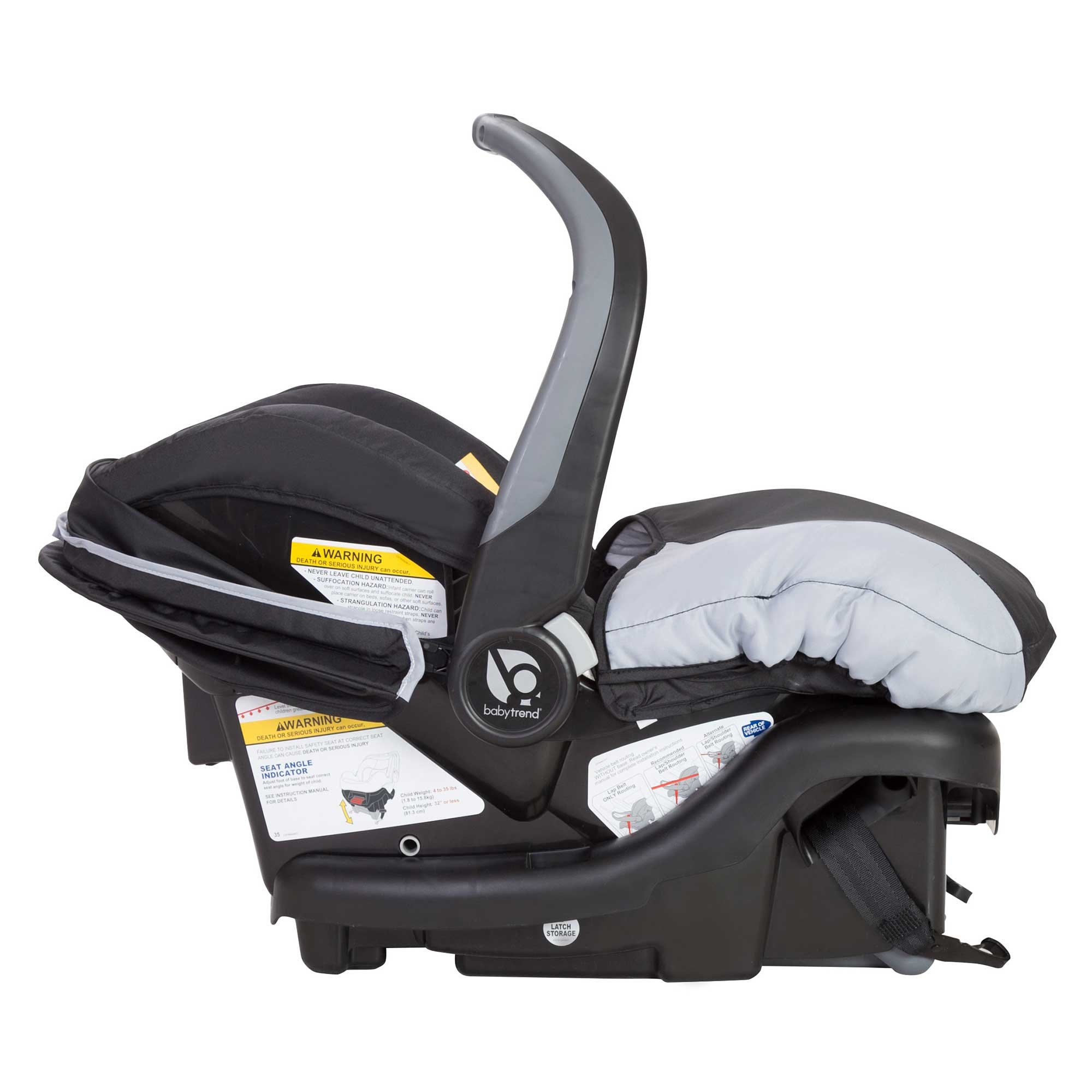 Baby Trend Sit N Stand Tandem Stroller + Infant Car Seat Travel System, Stormy by Baby Trend (Image #9)