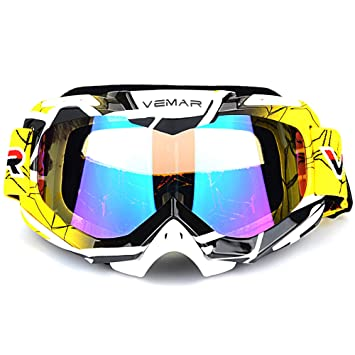 Amazon.com: Ubelly - Gafas de motocross, deportivas ...