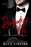 Remember Me: Hitter Squad Series Novella