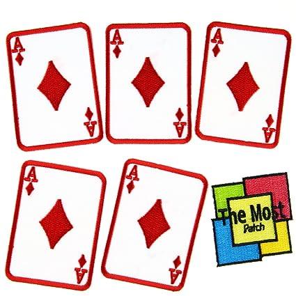 Amazon Com Lot Of 6 5 1 Ace Diamond Casino Poker Card Symbol