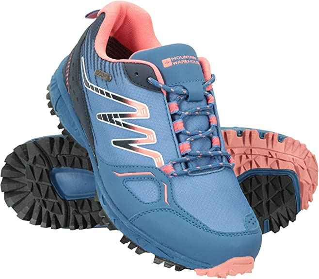 Mountain Warehouse Botas de Senderismo Lakeside Trail Resistentes al Agua para Mujer - Entresuela Phylon, Ligeras, Suela de Goma, Parte Superior de Malla - para Caminar: Amazon.es: Zapatos y complementos