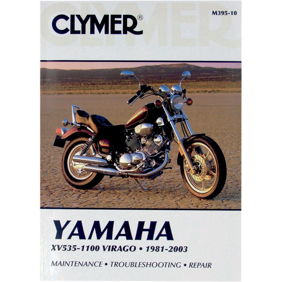 Amazon.com: Clymer Repair Manual for Yamaha XV535/XV1100 XV-535 81-03:  Automotive