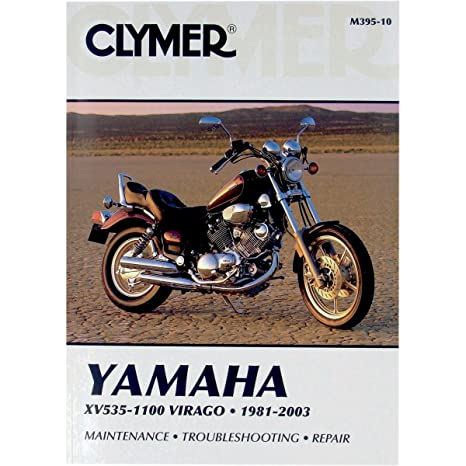 amazon com: clymer repair manual for yamaha xv535/xv1100 xv-535 81-03:  automotive