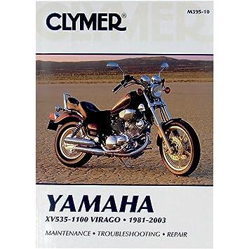 Amazon.com: Clymer Repair Manual for Yamaha XV535/XV1100 XV-535 81 on