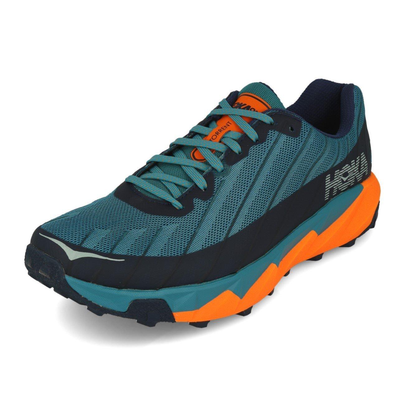 Hoka One One Torrent Storm Blue Black Iris: Amazon.co.uk: Shoes & Bags