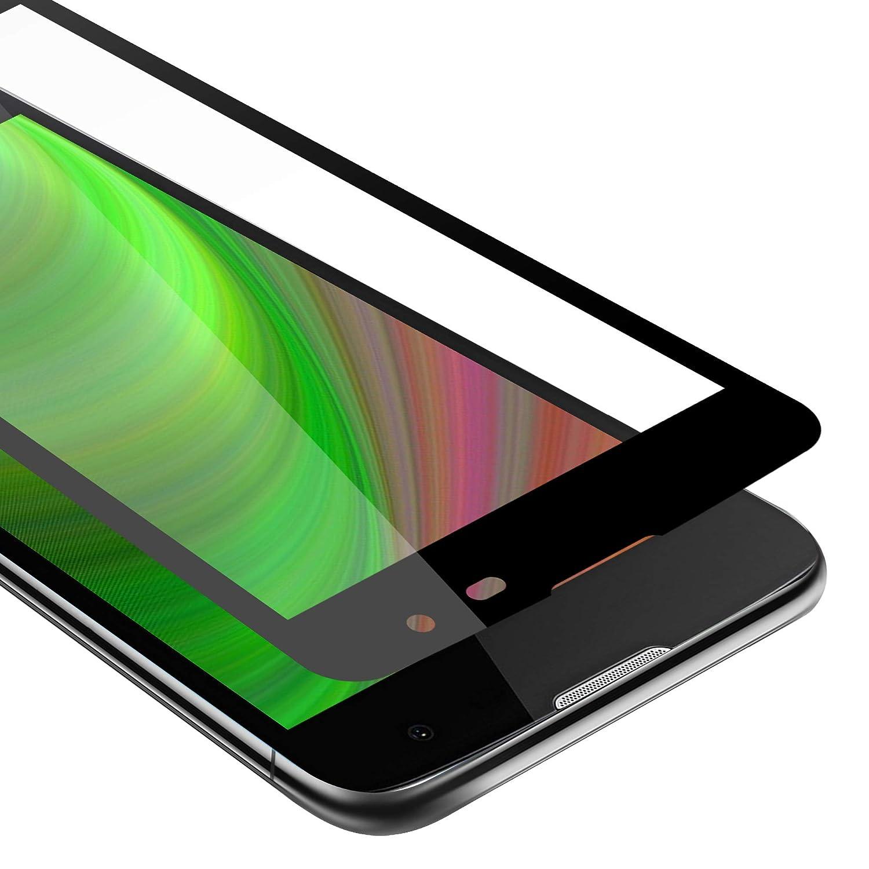Cadorabo Película Protectora para LG K7 en Transparente con Negro: Amazon.es: Electrónica