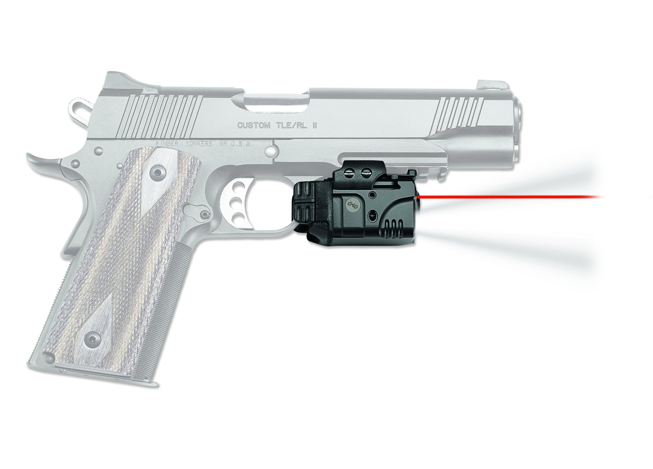 Crimson Trace CMR-205 Rail Master Pro Universal Red Laser Sight + Tactical Light by Crimson Trace (Image #4)
