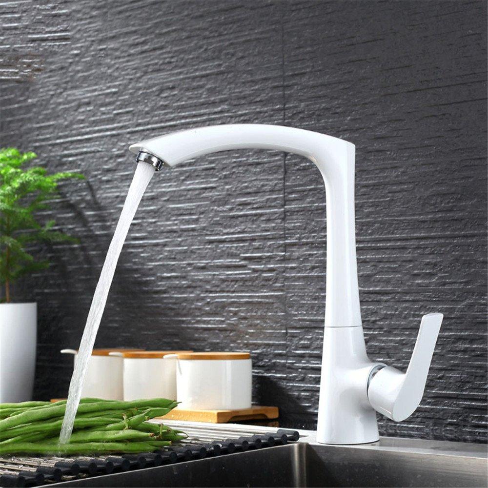 bede7417276cc0 Bijjaladeva Wasserhahn Bad Wasserfall Mischbatterie Waschbecken Armatur für  Küche Wasserhahn Wasserhahn Wasserhahn Spülen Waschbecken Wasserhahn Weiß  heißen ...