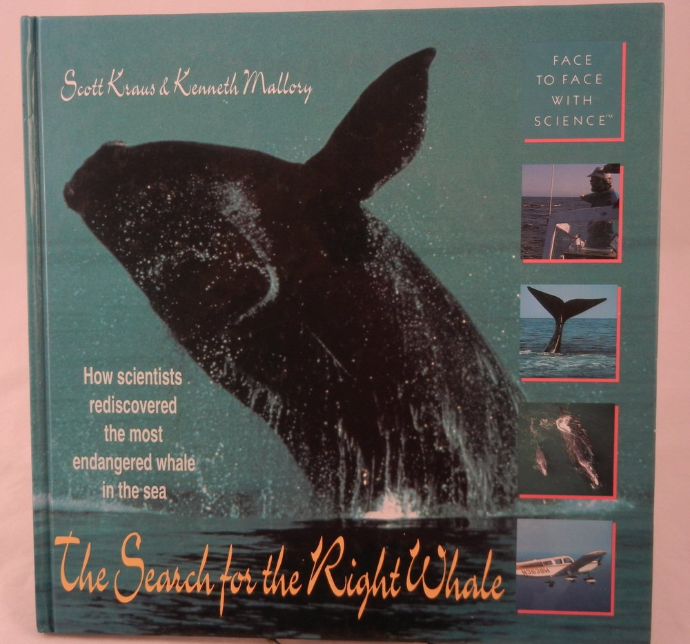 search for the right whale face to face with science new