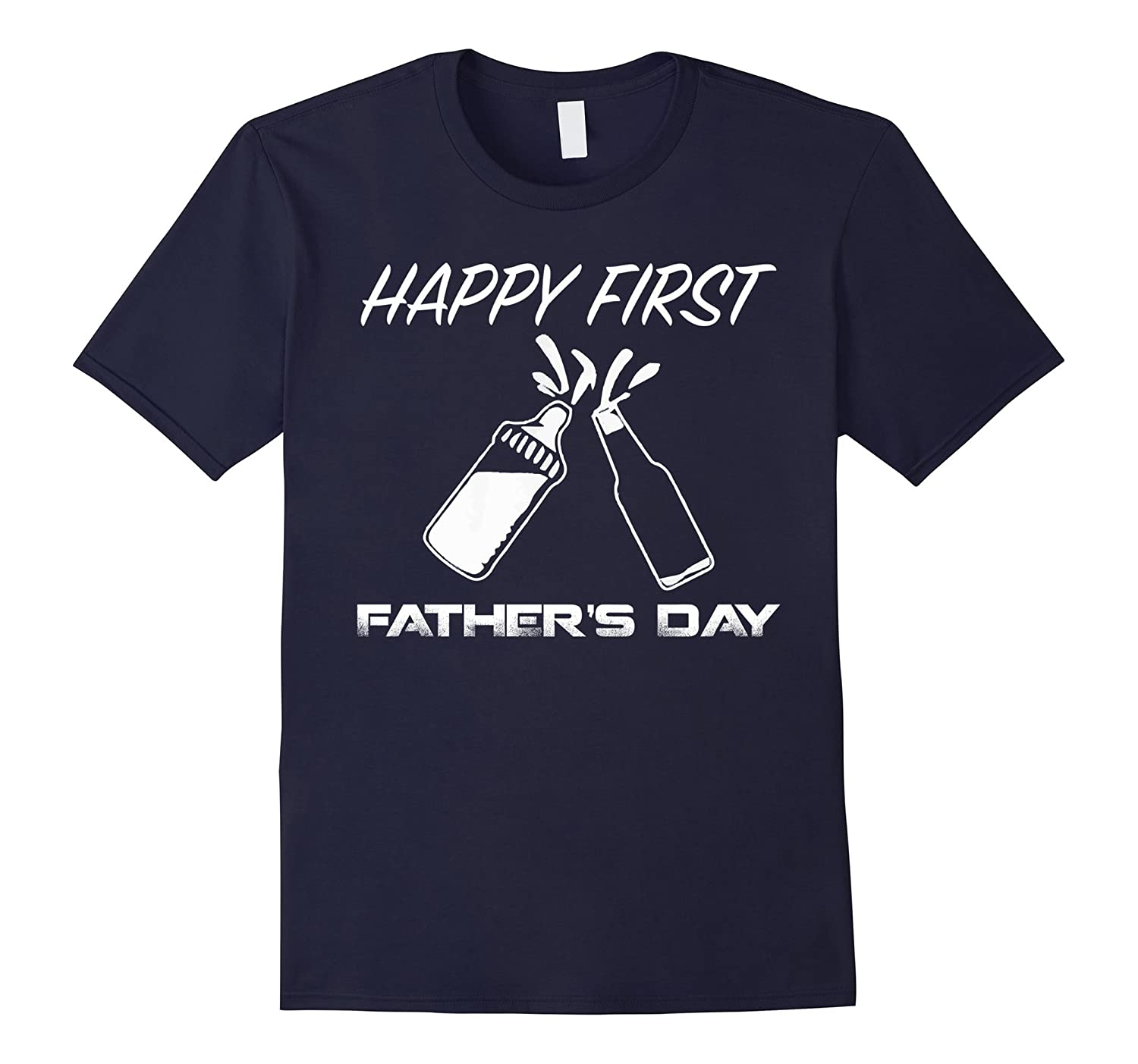 HAPPY FIRST FATHERS DAY T-SHIRT FATHERS DAY GIFT-Vaci