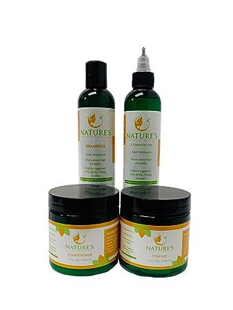 Amazon Com Nature S Best Kept Secret Hair Care Kit 4 Pc Set Beauty