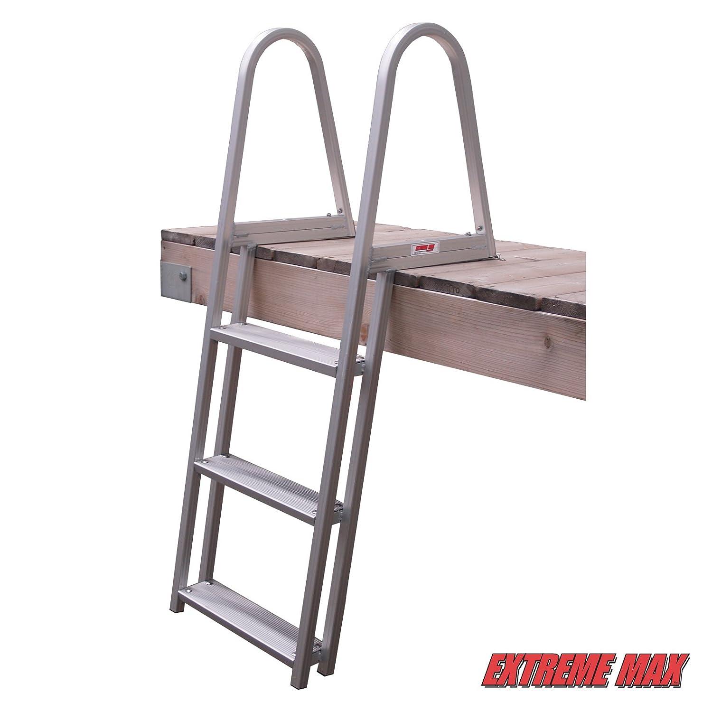 Extreme Max 3005.3383 5-Step Pontoon//Dock Ladder