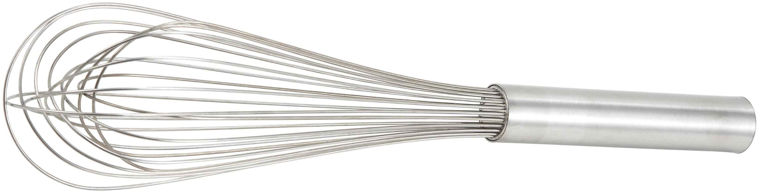 Winco Stainless Steel Piano Wire Whip, 10-Inch