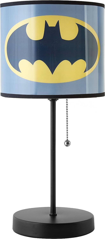 Warner Brothers Batman Stick Lamp, Gray