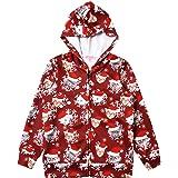 QPANCY Girls Hoodie Unicorn Jacket Zip Up Sweatshirt Clothes with Pockets