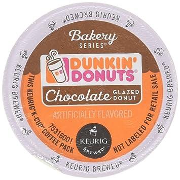 Dunkin Donuts Bakery Series Chocolate Glazed Donut Flavored Coffee K