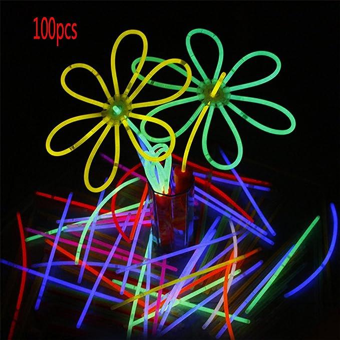 Fábrica befitery Niños los Restos desechables Barras luminosas Mutila - Barras luminosas leuchtarmbänder: Amazon.es: Iluminación