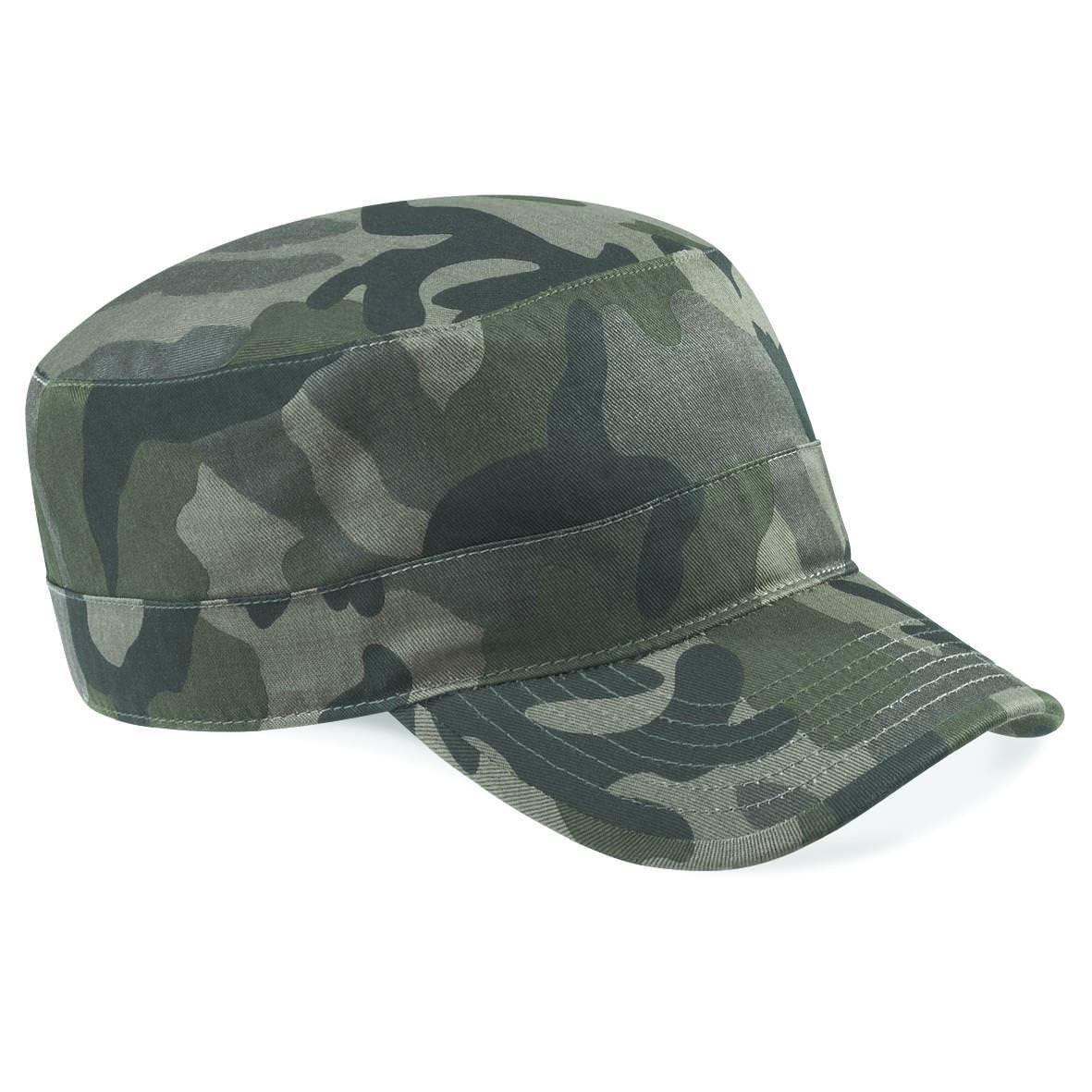 Beechfield Camouflage Army Cap, verschiedene Farben B33