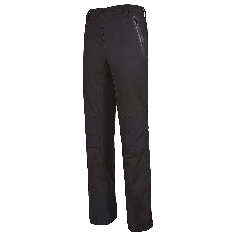 Trespass Womens Ladies Sola Softshell Outdoor Pants (XL) (Black)