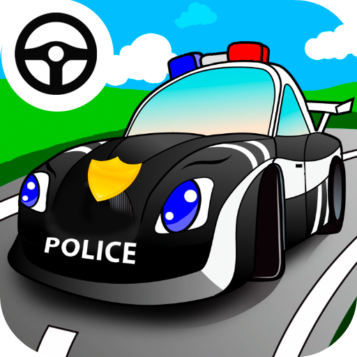 amazoncom cool cop car games for little kids driving down the highway appstore for android