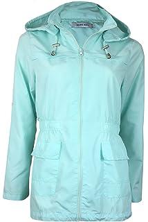 22a7a4de8 Ladies Brave Soul Raver Lightweight Raincoat Hooded Foldaway Mac In ...