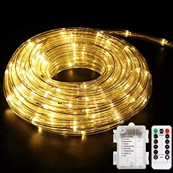 Youngpower Battery Operated LED Rope Lights