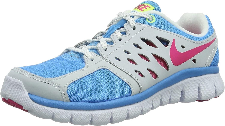 Nike Flex 2013 RN GS jóvenes Vivid Azul Intenso Rosa voltio ...