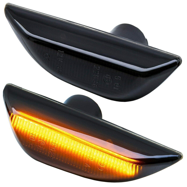 Chevrolet Trax Indicatore di direzione LED Compatibile con Opel Mokka Vetro Trasparente Mokka X RM-Style 71015
