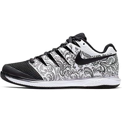 d4e2aec269408 Nike Womens Zoom Vapor X Tennis Shoes (10 B US, White/Black)
