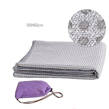 Antideslizante Yoga Mat --- El sudor de silicona absorbente ...