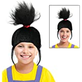 Black Agnes Wig Agnus Wig Costume For Kids or Adults Ideal for an Agnes Costume