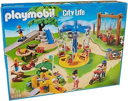 Amazon.com: Playmobil Rojo Coche De Carreras: Toys & Games