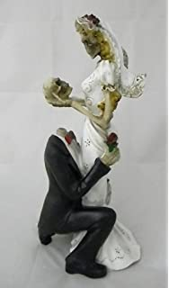 Amazon.com: Wedding Party Reception Cake Topper Day of the Dead ...