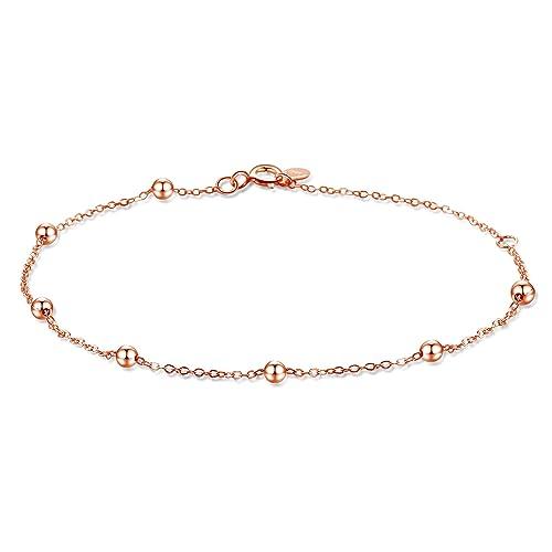 9ec194b6074 Amazon.com  Dainty Bracelets for Women Sterling Silver
