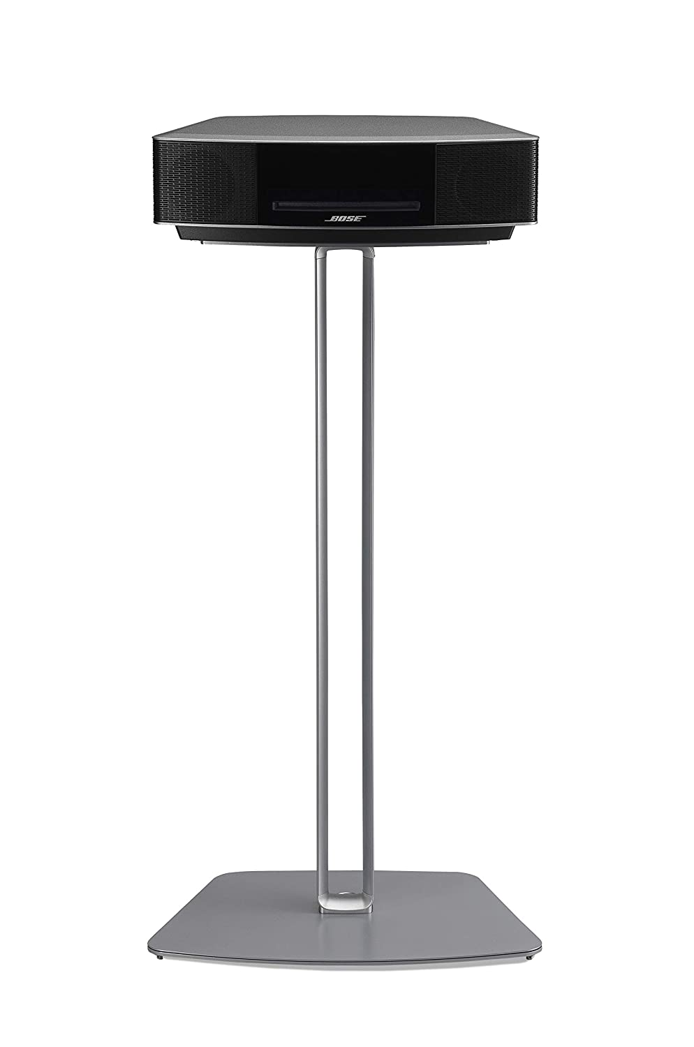 SoundXtra BWFS1091 Floor Stand for Bose Wave - Silver