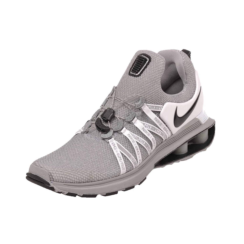 Nike Shox Gravity Mens Running Shoes 10 M US Wolf Grey Black-White