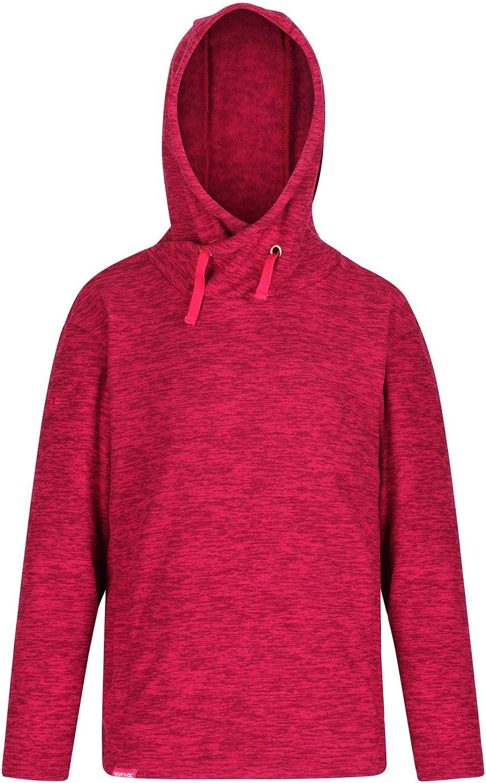 Regatta Kids Kacie Broken Stripe Hooded Fleece