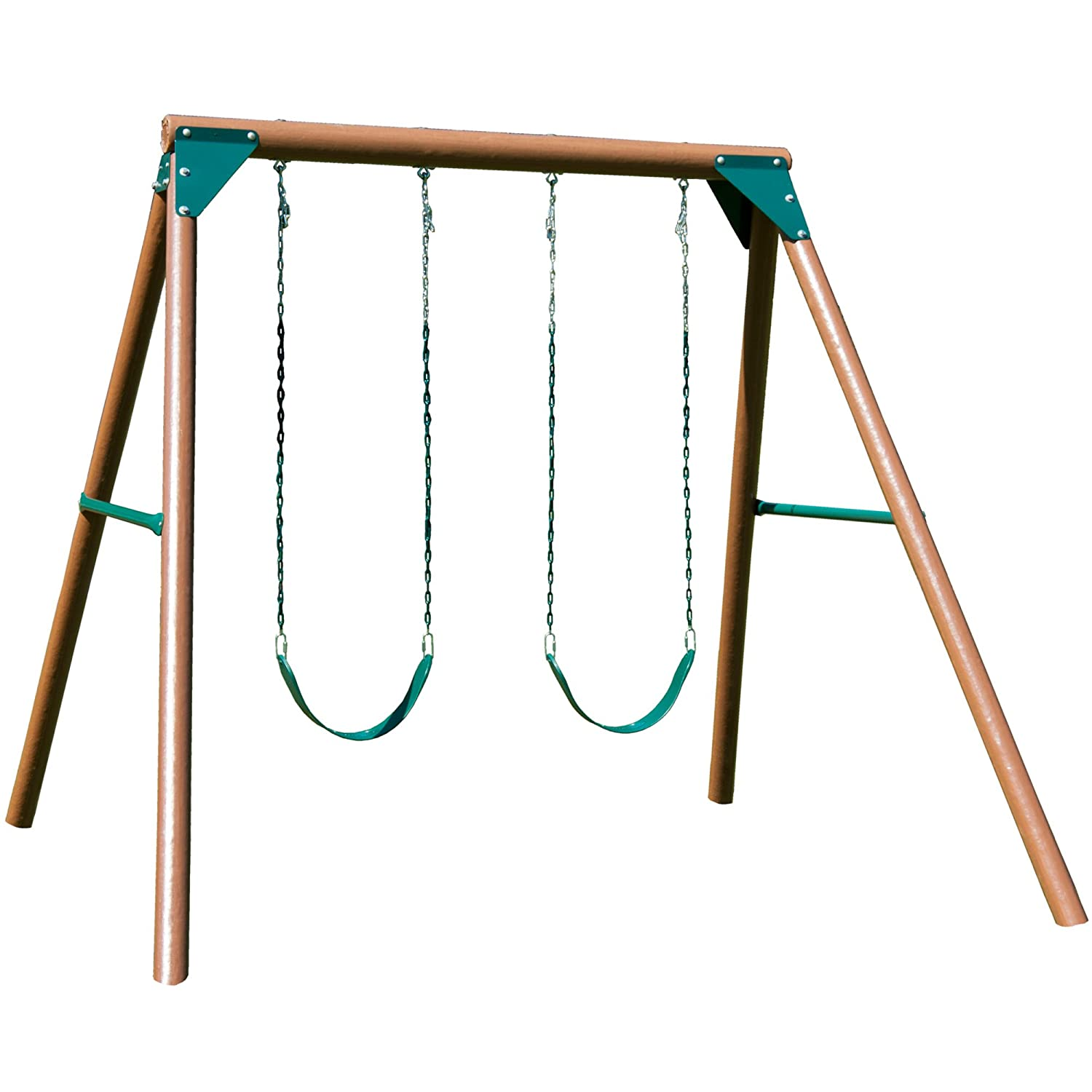 swing complete ready wood product chesapeake n slide to kit assemble set
