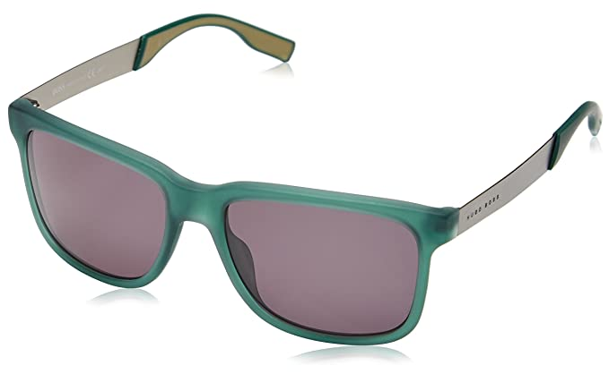 242d13854af Hugo BOSS Men s BOSS 0553 S Wayfarer Sunglasses  Amazon.co.uk  Clothing